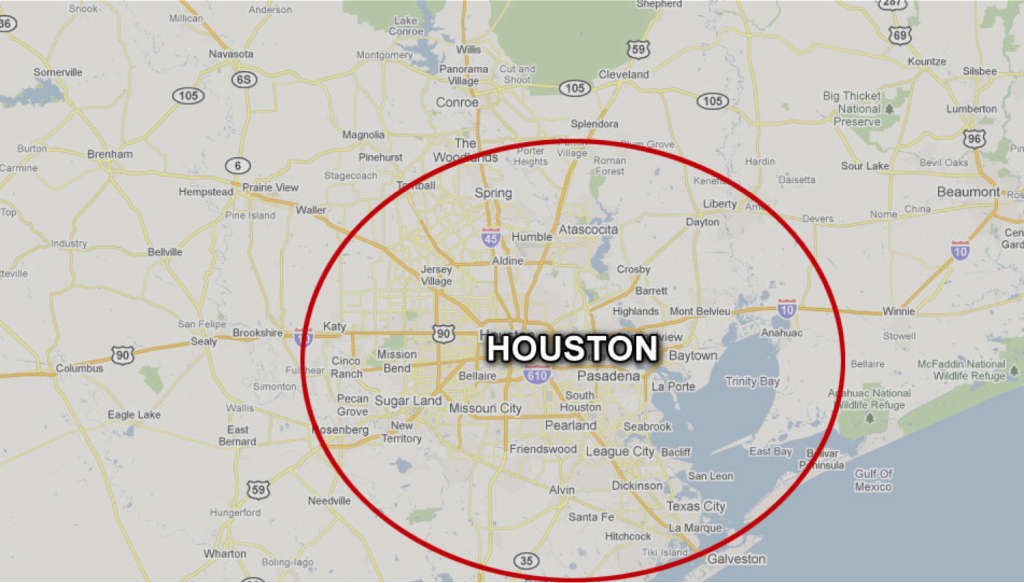 Emergency Services Restoration - Houston Coverage Area